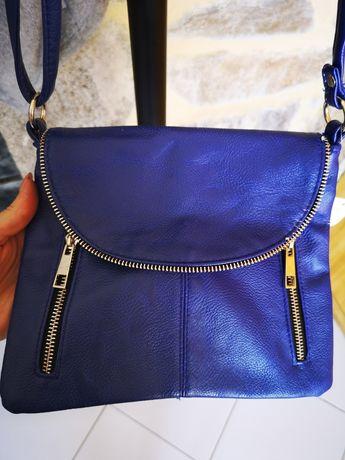 Bolsa tiracolo azul nova