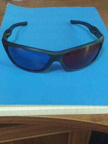 Стильные 3D очки анаглифные, большие 14*4 см