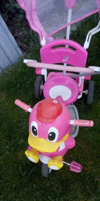 Super rowerek dla dziewczynki