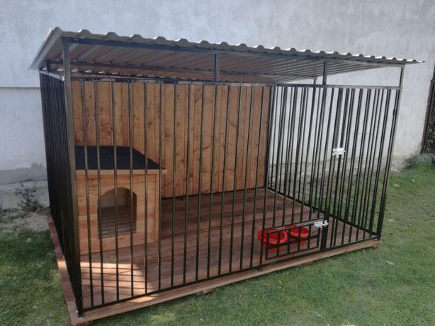 Kojec Klatka Zagroda Buda dla psa 2mx2m Montaż Gratis Solidny