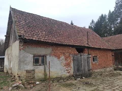 Oddam do rozbiórki ceglana stodołe - w zamian za materiał