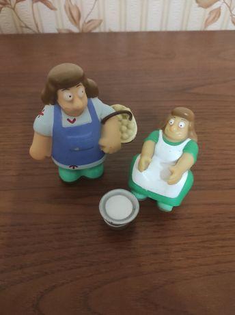 Іграшки пласмасові
