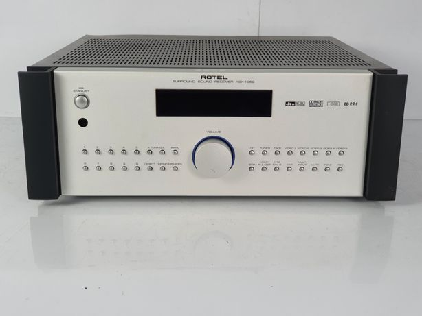 Amplituner ROTEL RSX 1056 Audiofilski 2x100W 3x75W 8 ohm SOLIDNY złoto