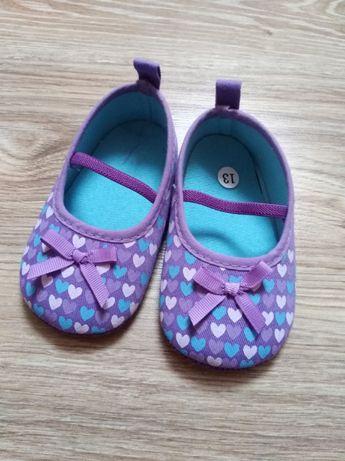 Buciki niemowlęce, buty, niechodki