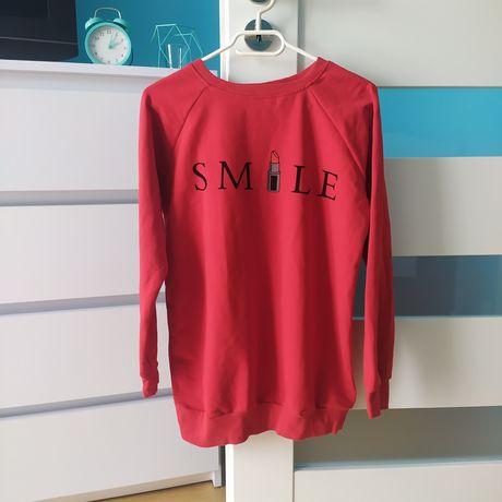 Nowa czerwona bluza rozmiar L