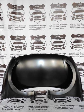 Капот Hyundai Accent (Solaris) 2017-2019, крыло, фары, бампер, решетка
