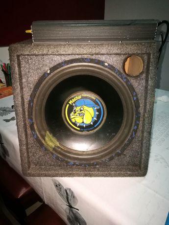 Subwoofer magnar+amplificador