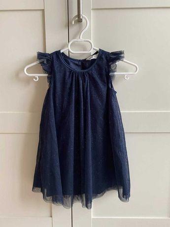Нарядное платье для  девочки HM 3-4 y