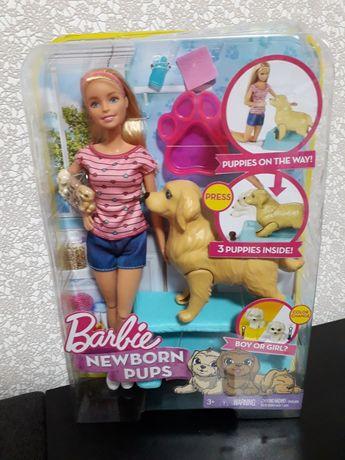 Barbie Newborn Pups Doll & Pets - Барби - Новородженные щенки
