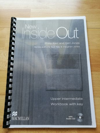 New Inside Out Upper intermediate Workbook with key