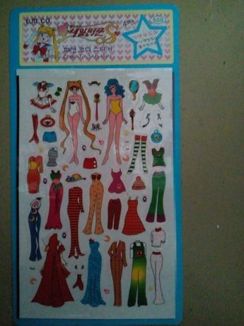 Ubierz czarodziejki! Sticker SailorMoon