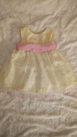 Sukienka dziewczęca 12m-cy