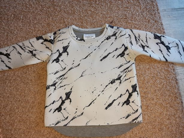 Bluza piankowa marmurkowe reserved 104