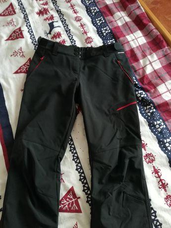 Nowe spodnie northfinder phoebe trekkingowe, softshel, r. L