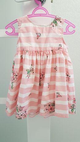 Платье lc waikiki( next)на девочку 12-18 босоножки garvalin в подарок