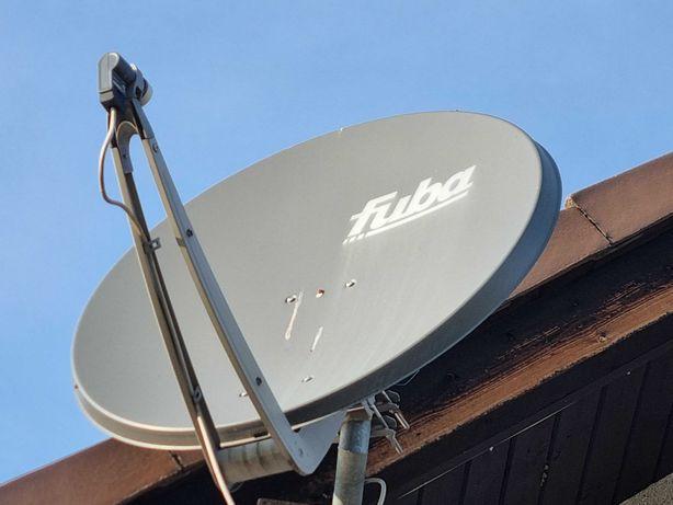 antena satelitarna, talerz, FUBA aluminiowa super