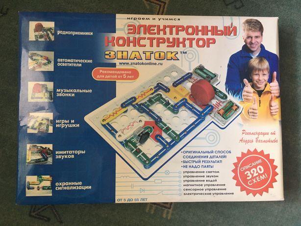 """Електронний конструктор """"Знаток"""""""