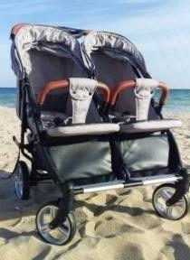 Коляска для двойни близнецов CARELLO Connect Двух детей погодок