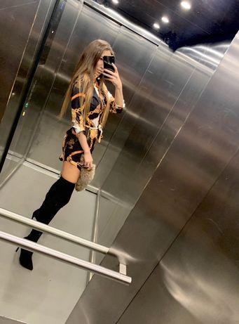 Long Shirt Dress a'la Versace