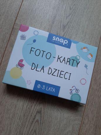 Foto karty dla dzieci 0 - 3 lata Snap the moment karty do zdjęć