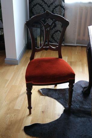 kpl 6 antycznych krzeseł