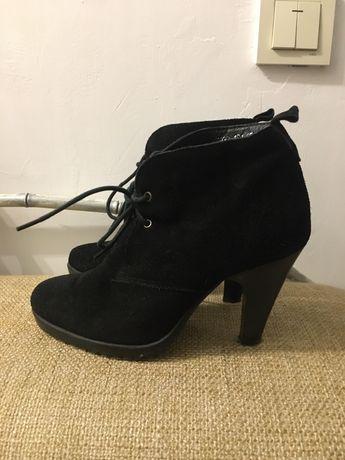 Зимние ботинки на цигейке 36 р.