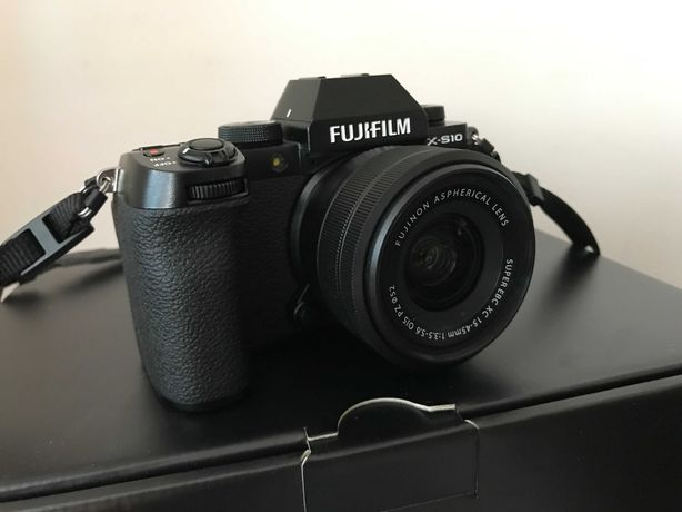 Aparat Fujifilm X-S10+ XC 15-45mm POLECAM !