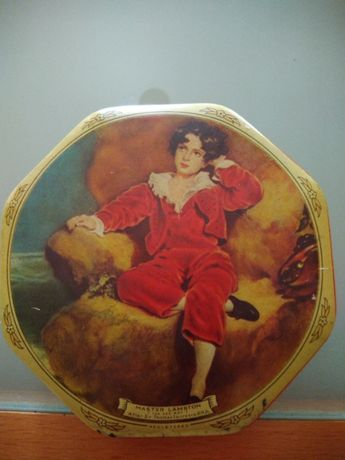 Caixa metálica Vintage Tin Box Cremona & Red Boy Toffees Mad & red boy