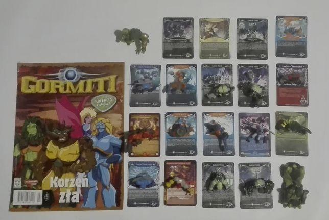 GORMITI - 16 figurek + karty!