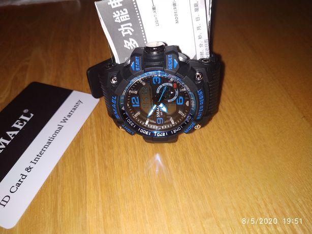 Новые Мужские подростковый спортивные часы, фирмы SMAEL