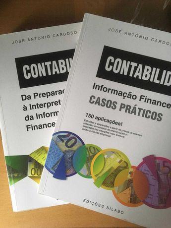 Livro Contabilidade + Livro de Casos Práticos