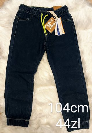 spodnie chlopiec 104cm