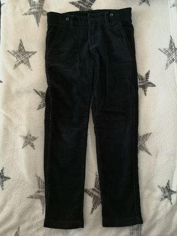 H&M spodnie rozm. 128 sztruks