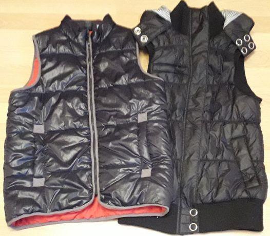 Жилет куртка без рукавов Сracker с капюшоном OKAЇDI Унисекс р.44 150