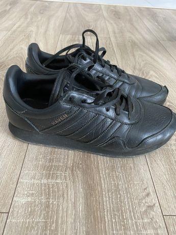 Кожаные кросовки кеды adidas