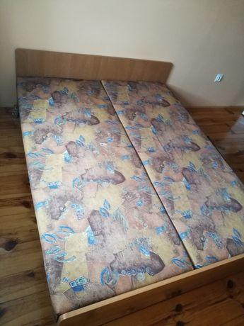 Pilne za darmo łóżko 160cm 2 osobowe  podwójne małżeńskie