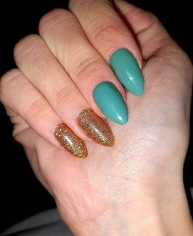 Покрытие гель лаком, ногти Оболонь