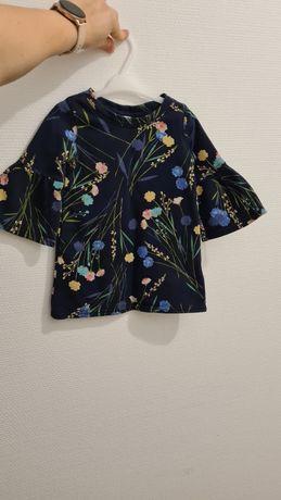 Sukienka GAP polne kwiaty rozm 86