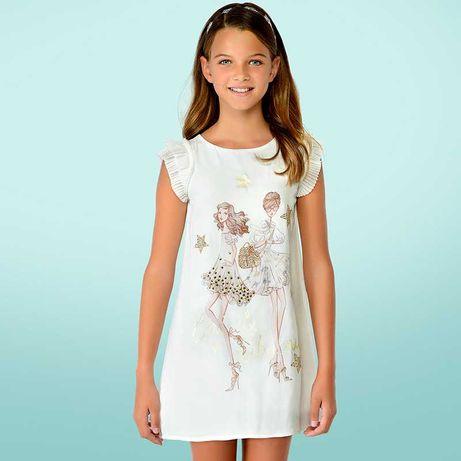 Святкові плаття Mayoral розм. 10( 146 см) - 12 ( 152 см)