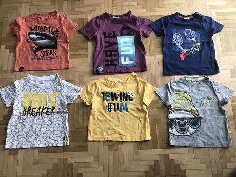 Ubranka - 22 koszulki, chłopiec, rozmiar 92