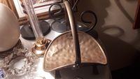 Bonito Cesto pequeno em bronze - Vintage