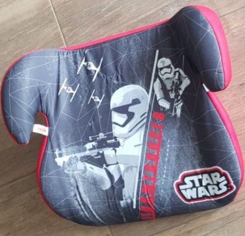 Fotelik fotel podkladka samochodowy dla dzieci  Star Wars