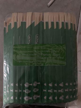 Sushi pauzinhos de Bambu
