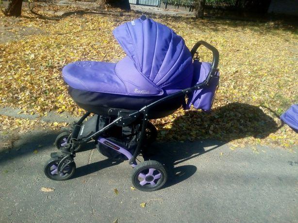 Детская коляска 2 в 1 Camarelo sevilla Поможет с рождения и до 2-3 лет