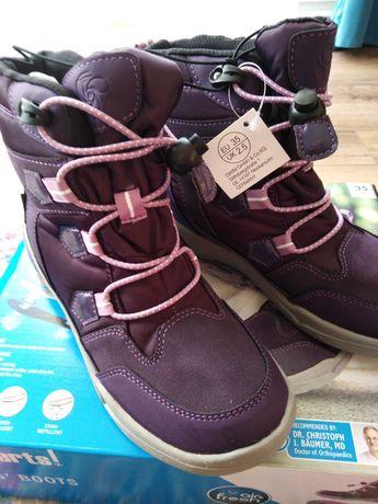 Buty dziewczęce nieprzemakalne oddychające rozmiar 35