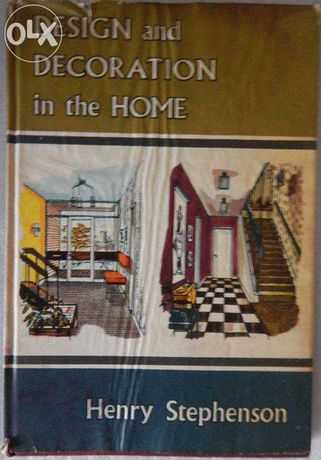 """Livro """"Design and Decoration in the Home"""""""