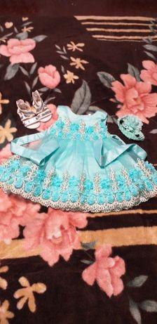 Детское платье на 1 годик