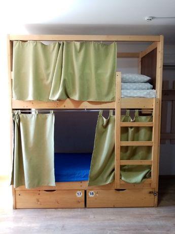 Двухъярусная кровать с ящиками из СОСНЫ