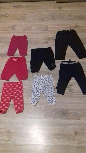 Spodnie, spodenki, geterki dla dziewczynki 50, 56, 62, 68, 80
