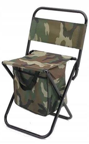 KRZESEŁKO krzesło WĘDKARSKIE z TORBĄ składane Duże Okazja